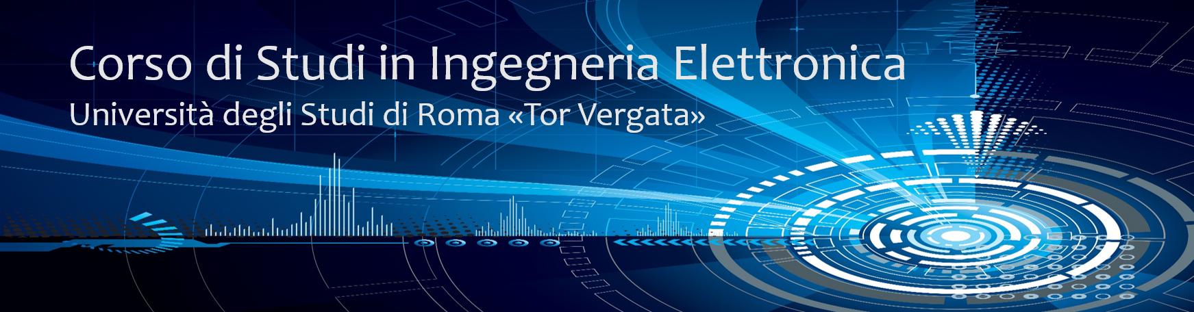 Calendario Lauree Unica Ingegneria.Corso Di Studi In Ingegneria Elettronica Corso Di Studi In